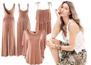 H&M - wiosna 2011 w kolorze gliny
