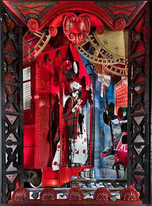 Tegoroczne witryny świąteczne Bergdorf Goodman