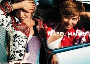 Arizona Muse dla Isabel Marant