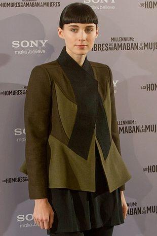 Rooney Mara w żakiecie Givenchy (FOTO)
