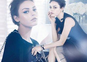 Mila Kunis twarzą Christiana Diora
