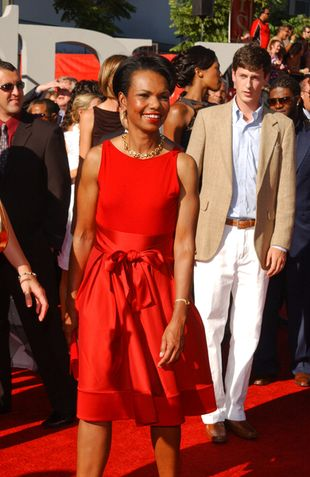 Condoleezza Rice - poważna pani polityk...