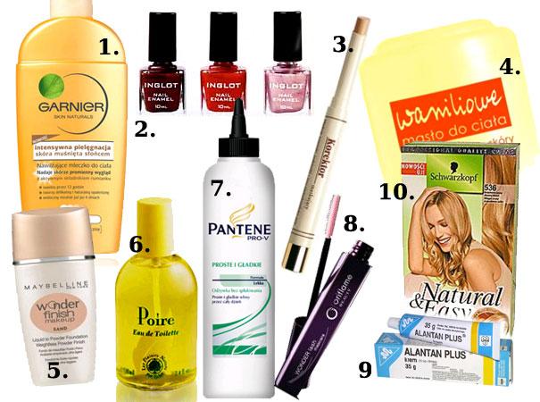 kosmetyki, twoja kosmetyczka, ulubione kosmetyki, wasza kosmetyczka, pielęgnacja, makijaż, recenzje