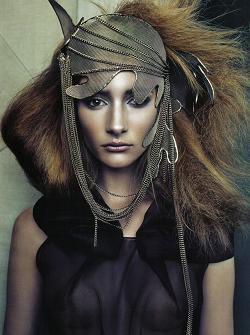Gotycka sesja w Vogue Italia