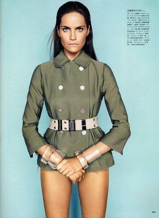 Missy Radyer i Kendra Spears w japońskim Vogue