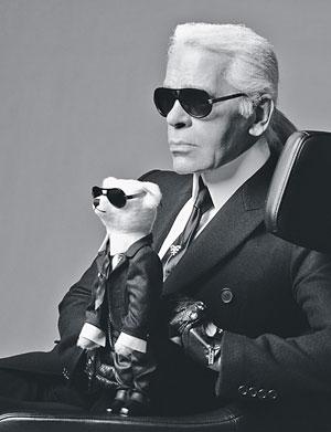 Miś Karla Lagerfelda