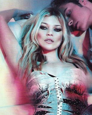 Kate Moss w kampanii Just Cavalli