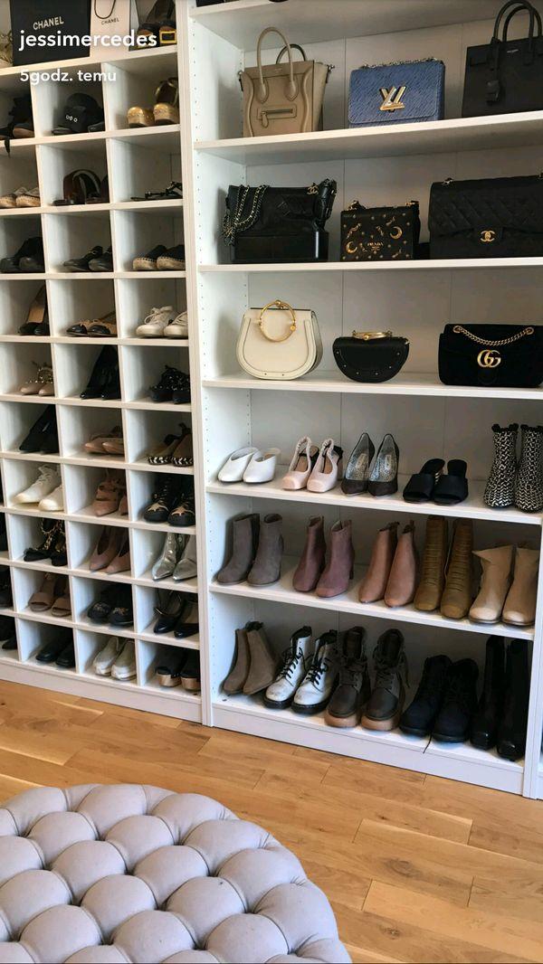 Tak, garderoba to coś, czego bardzo zazdrościmy Jessice Mercedes! (FOTO)
