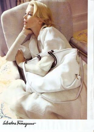 Claudia Schiffer twarzą marki Salvatore Ferragamo