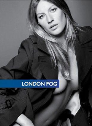 Gisele Bundchen promuje London Fog