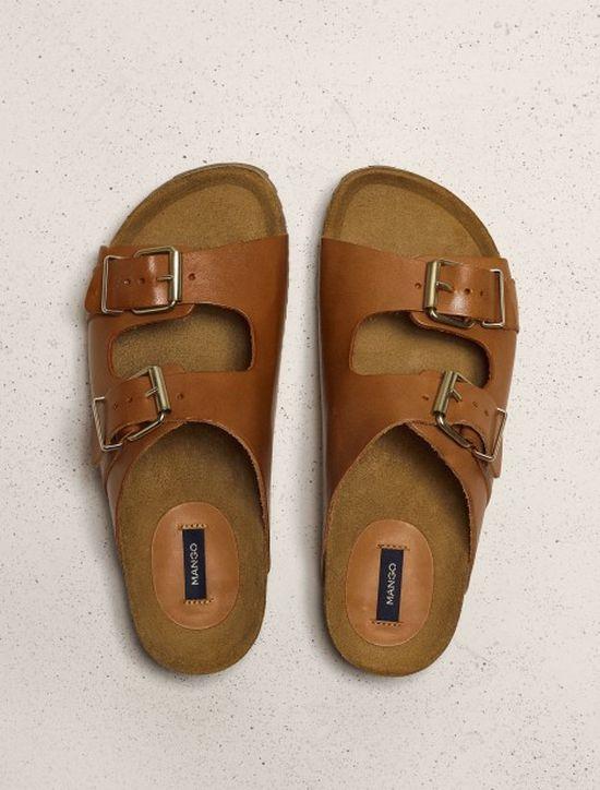 Modne skórzane dodatki do ubrań Mango z kolekcji na lato