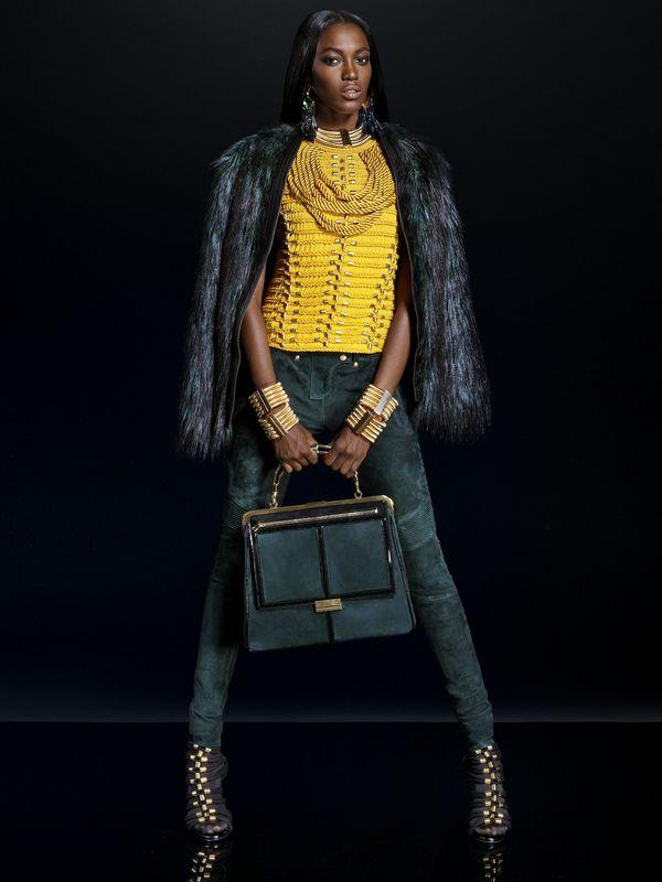Oficjalny lookbook Balmain x H&M ujrzał światło dzienne