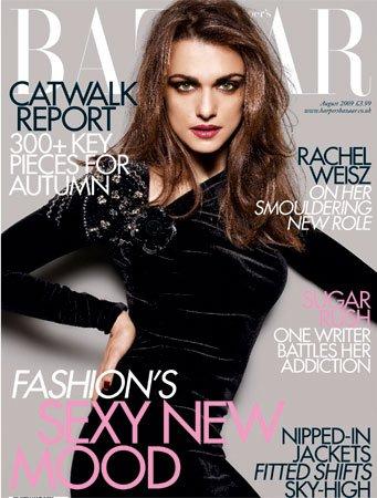 Rachel Weisz w Harper's Bazaar