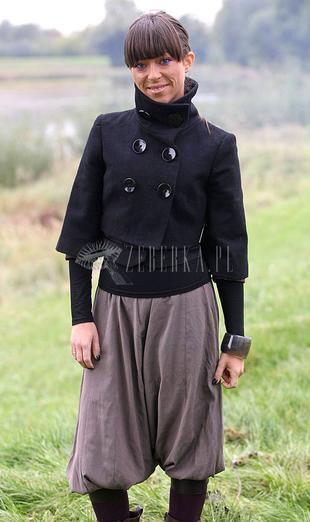 Natalia Kukulska na polu golfowym