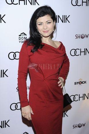 Katarzyna Cichopek w czerwieni (FOTO)
