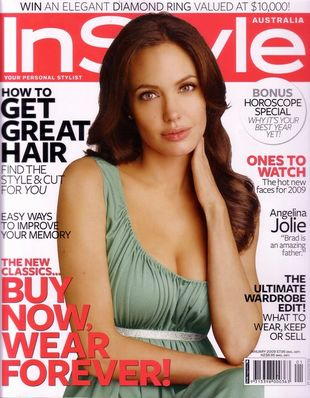 Angelina Jolie w In Style