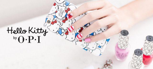 Manicure na wiosnę, czyli Hello Kitty by OPI (FOTO)