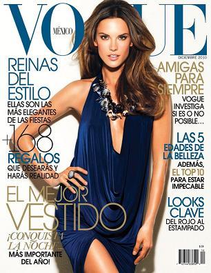 Ambrosio na kolejnej grudniowej okładce Vogue