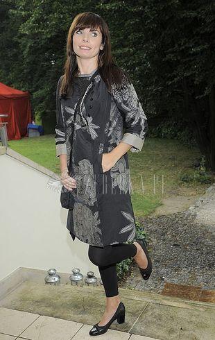 Agnieszka Dygant w czerni