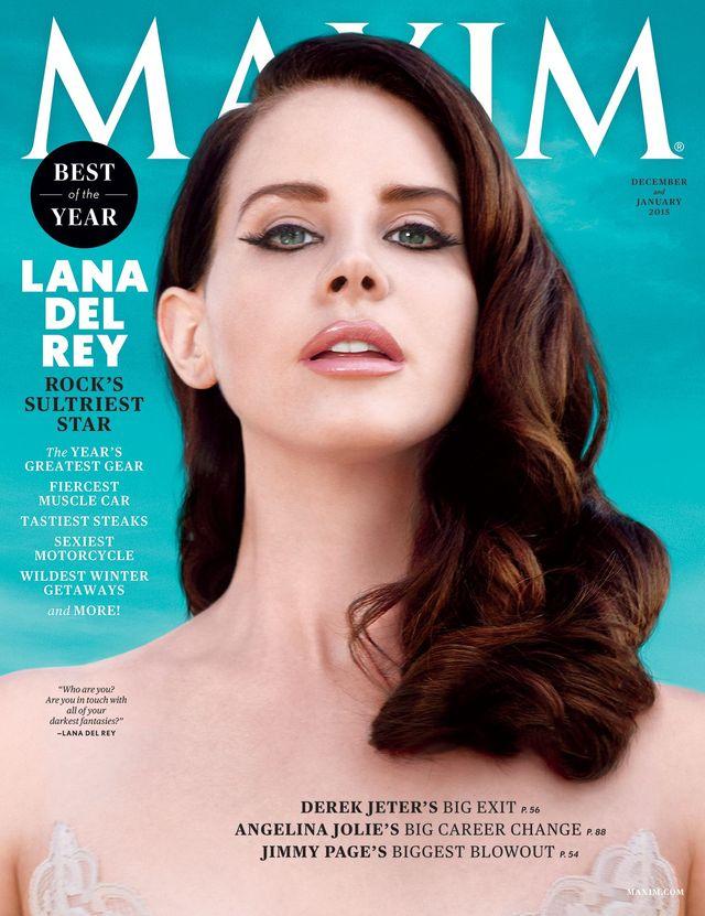 Lana Del Rey gwiazdą najnowszego Maxima! (FOTO)