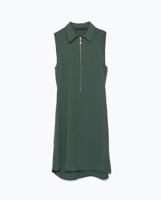 Zara Casual Afterwork - Biało-zielona mieszanka na wiosnę