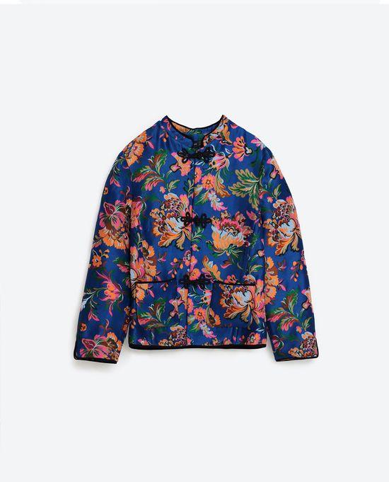 Zara TRF Pajama Party - Wzory i casual na jesień 2016