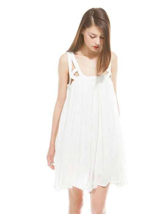 Dziewczęce sukienki na lato Bershka - przegląd (FOTO)