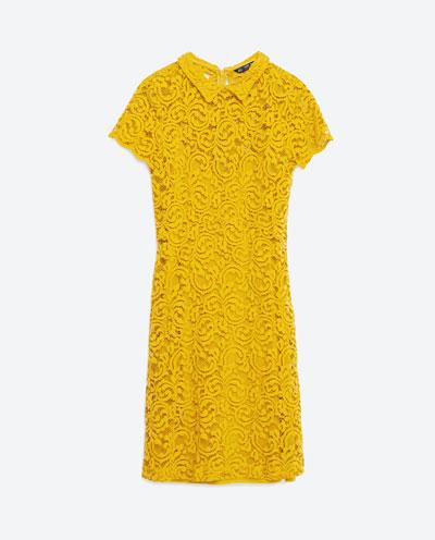 Zara Lace and flowers - Nowa kolekcja w wiosennym stylu