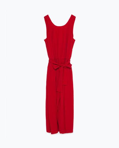 Przegląd Zara - 10 modnych wieczorowych kombinezonów (FOTO)