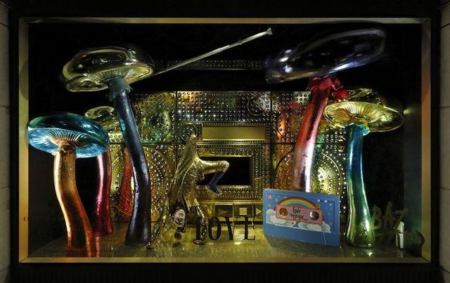 Najpiękniejsze świąteczne witryny sklepowe - Barneys (FOTO)