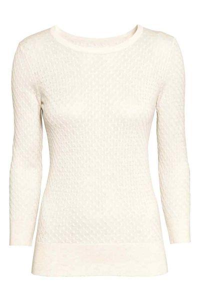 Białe swetry – 12 modnych propozycji topowych sieciówek