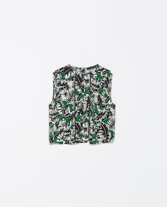 top w kwiaty, Zara, 169 zł