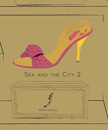Buty Carrie Bradshaw - 50 par z serialu i filmu Seks w wielkim mieście