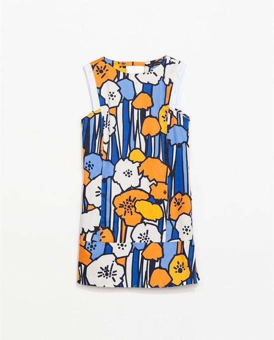 Sukienki z nadrukami - wiosna/lato 2014