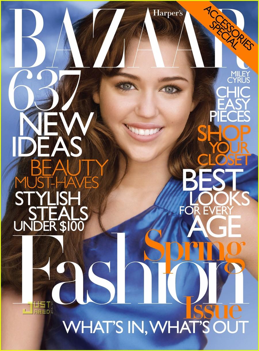 Miley Cyrus na okładkach magazynów