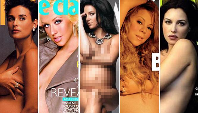 Gwiazdy, które pokazały ciażowe brzuszki na okładkach znanych czasopism
