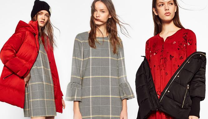 Zara TRF Dress Up Puff – Kontrastujące ubrania i ciepłe akcenty na zimę 2016