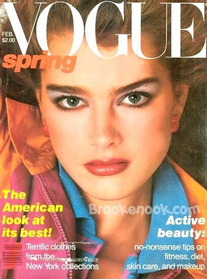 Brooke Schields na okładkach Vogue'a