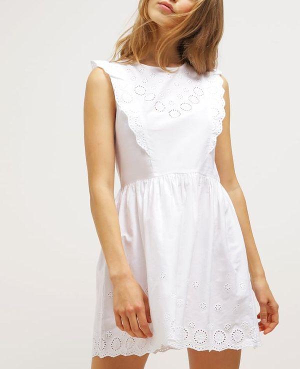 32b731341a Białe sukienki haftowane - przegląd sieciówek - zdjęcie 17 - Zeberka.pl