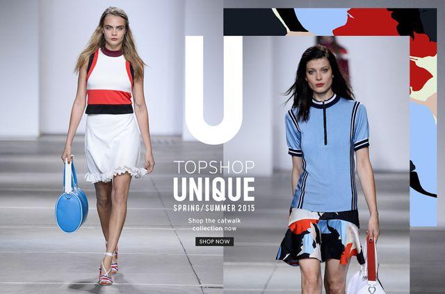 Nowa kolekcja Top Shop - Unique Spring/Summer 2015 (FOTO)