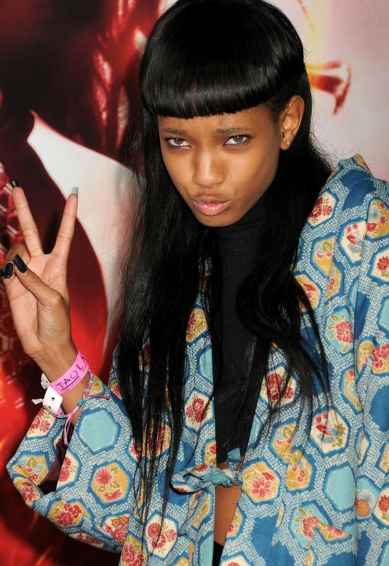 Willow Smith w futurystycznym eyelinerze! Internauci twierdzą, że wygląda dobrze