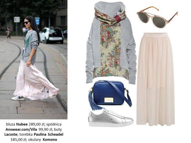 Wiosenna Inspiracja - Oversize'owa bluza w 5 różnych stylizacjach