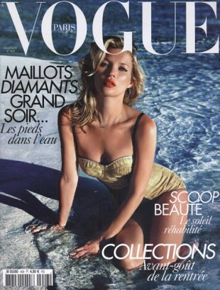 Kate Moss w Vogue Paris