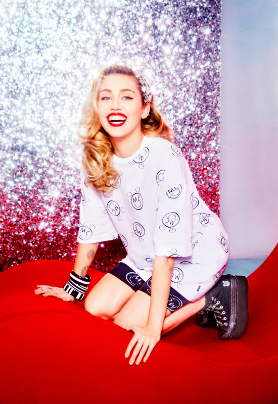 Prezentujemy debiutancką kolekcję Miley Cyrus dla Converse!