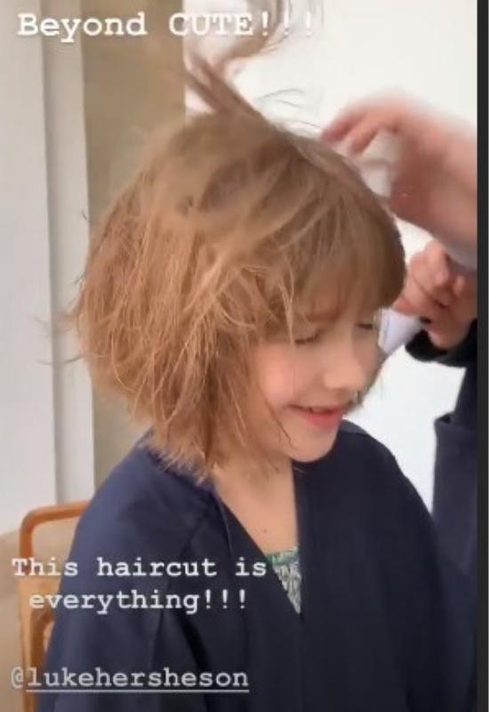 7-letnia Harper Beckham poddała się dziwnym zabiegom kosmetycznym