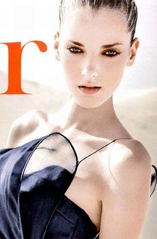 Denisa Dvorakova na okładce magazynu Flair