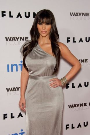 Kim Kardashian na srebro