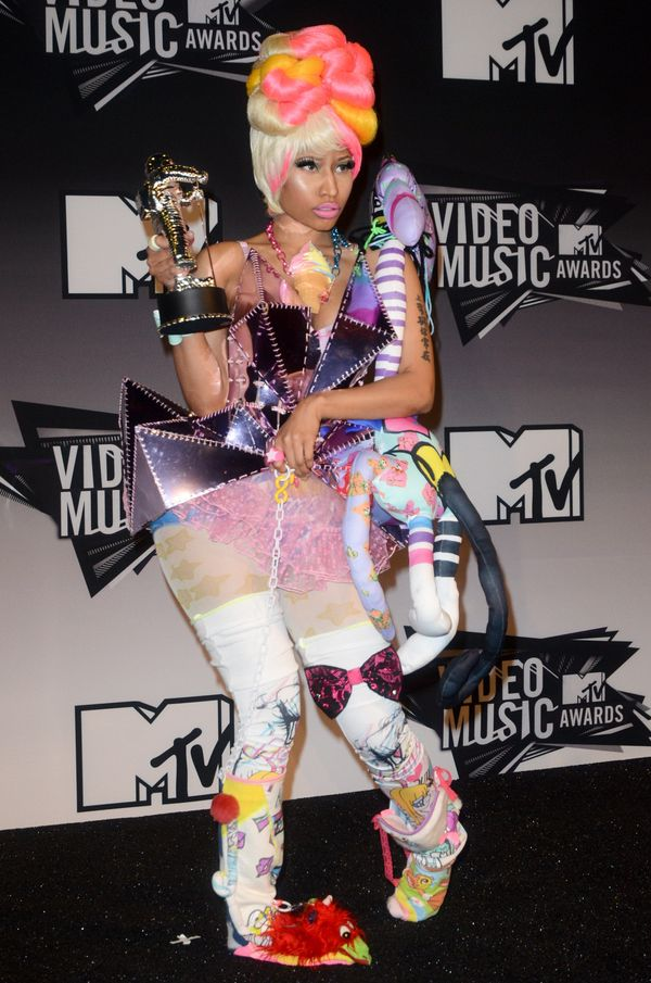 Nicki Minaj - od królowej kiczu do prawdziwiej damy? (FOTO)