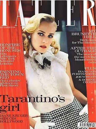 Diane Kruger elegancka w bluzce Chanel
