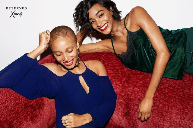 #ReservedForXmas, czyli świetny lookbook z Iriną Shayk i Jourdan Dunn! (FOTO)